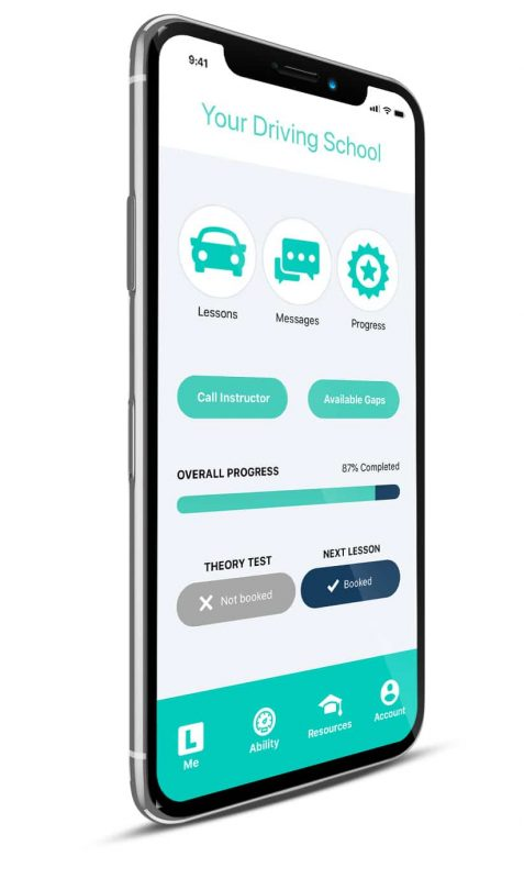 Total drive progress app