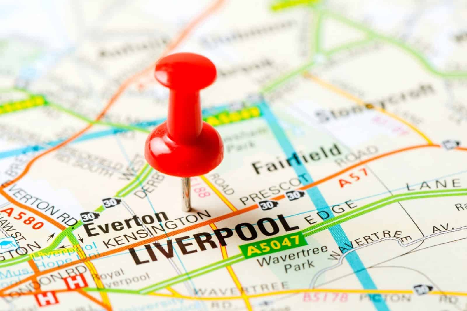 Liverpool driving school area covered