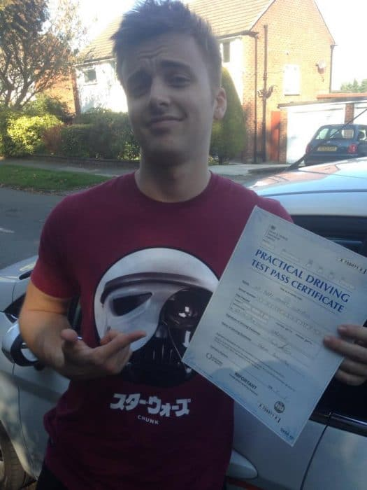 Parry Glasspool driving lessons in liverpool