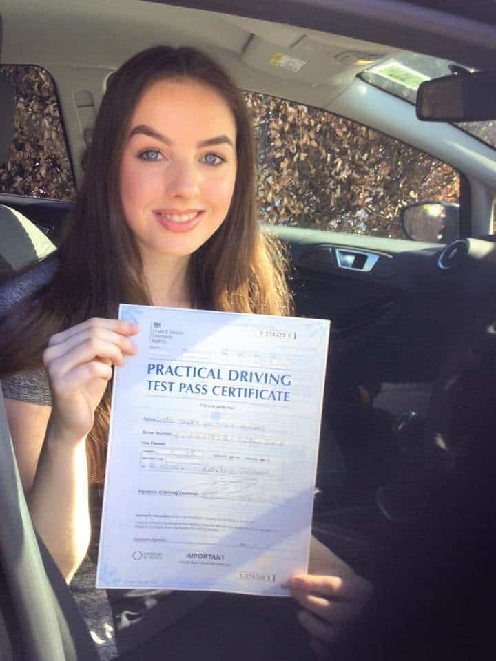 West derby pupil had driving lessons in Liverpool