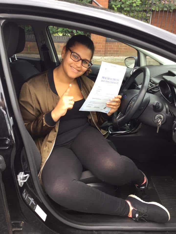 Toxteth pupil had driving lessons in Liverpool