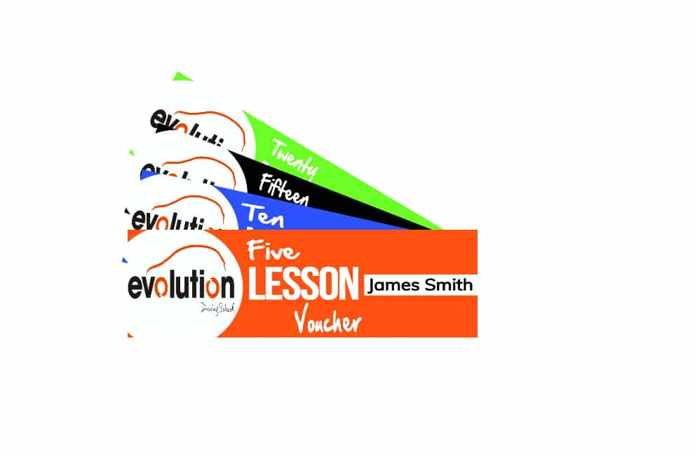 Evolution driving school Gift vouchers