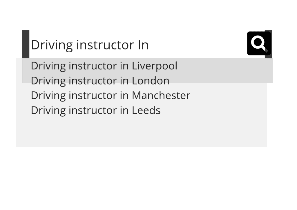 searching for a driving instructor in liverpool