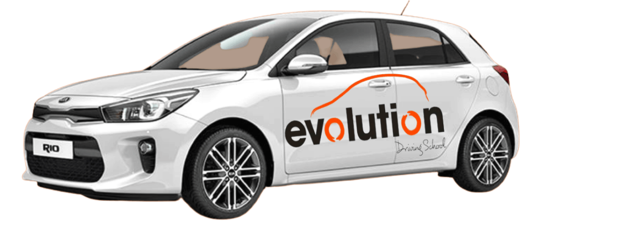 pass your driving test with evolution driving school